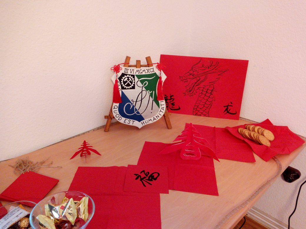 Jedes Jahr feiern wir das Neujahrsfest mit unseren chinesischen Bundesschwestern